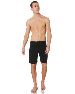 BLACK MENS CLOTHING STACEY BOARDSHORTS - STBS003BLK19BLK