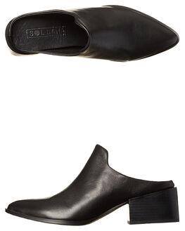 BLACK WOMENS FOOTWEAR SOL SANA FLATS - SS171W480BLK