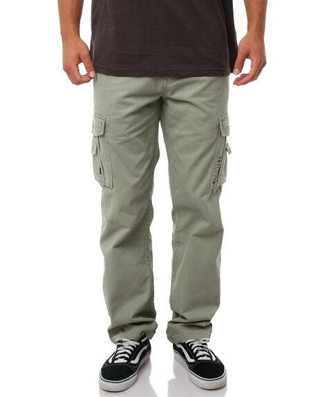 LIGHT GREEN MENS CLOTHING RIP CURL PANTS - CPADC14820