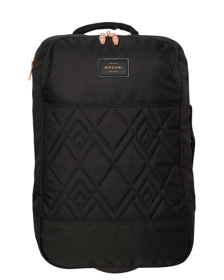 BLACK WOMENS ACCESSORIES RIP CURL BAGS + BACKPACKS - LTRHO10090
