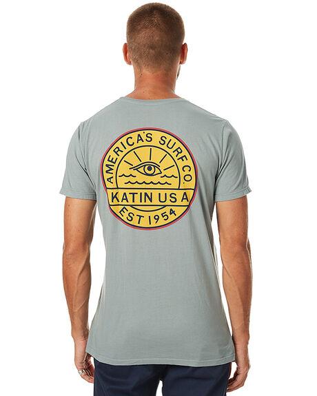 GREEN MENS CLOTHING KATIN TEES - TSEYES17GRN