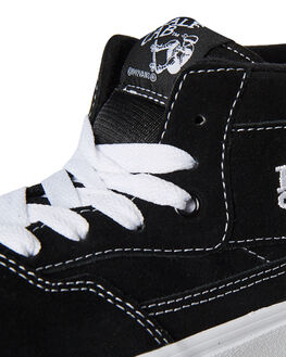 BLACK WHITE MENS FOOTWEAR VANS SNEAKERS - VN-0DZ31BLKW