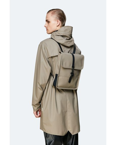 TAUPE MENS ACCESSORIES RAINS BAGS + BACKPACKS - 1366-TAUP-OS