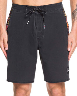 BLACK MENS CLOTHING QUIKSILVER BOARDSHORTS - EQYBS04240-KVJ0