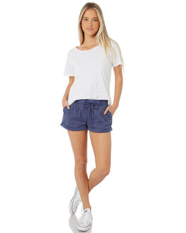 NAVY WOMENS CLOTHING SWELL SHORTS - S8173231NAVY