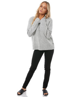 HERITAGE HEATHER WOMENS CLOTHING ROXY KNITS + CARDIGANS - ERJSW03221SGRH