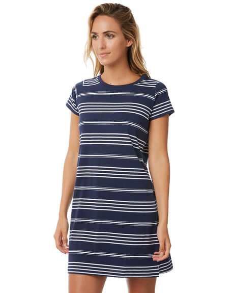NAVY WOMENS CLOTHING TEE INK DRESSES - CAST007ANVY