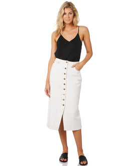 ECRU WOMENS CLOTHING MINKPINK SKIRTS - MD1903932ECRU