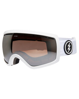 GLOSS WHT BROSE SIL BOARDSPORTS SNOW ELECTRIC GOGGLES - EG0717002-BRSR