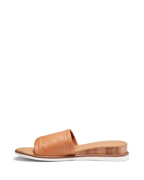 HONEY WOMENS FOOTWEAR JUST BECAUSE SLIDES - SOLE-JB0530HNY
