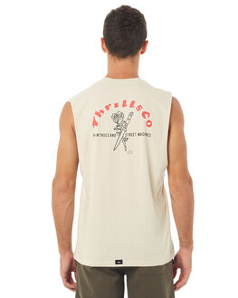 SAND MENS CLOTHING THRILLS SINGLETS - TS7-105CSAND