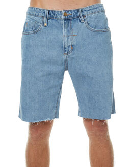 FADED BLUE MENS CLOTHING THRILLS SHORTS - TDP-314BFBLU