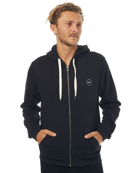 BLACK MENS CLOTHING SWELL JUMPERS - S5171444BLK