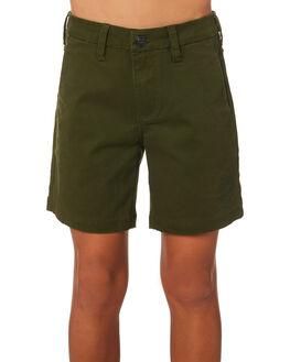 ARMY KIDS BOYS SANTA CRUZ SHORTS - SC-YWC9240ARMY