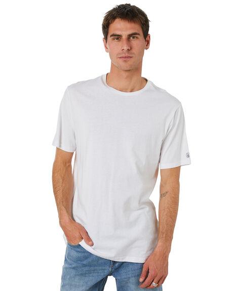 WHITE MENS CLOTHING VOLCOM TEES - A5032074WHT
