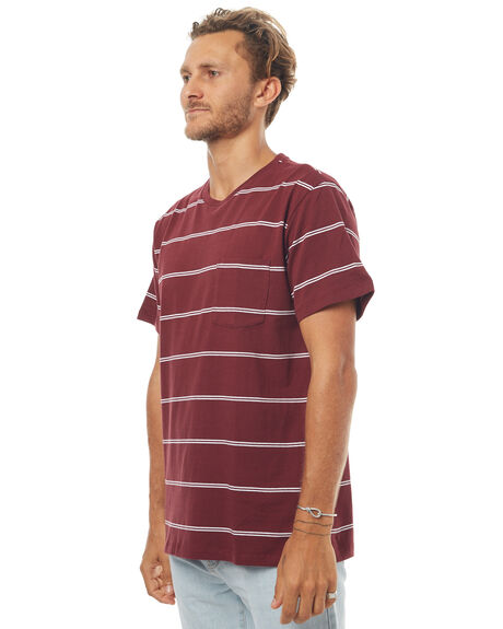 TEMPLE RED MENS CLOTHING KATIN TEES - KNGERS17TERED