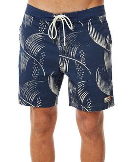 BLUE PALM MENS CLOTHING DEUS EX MACHINA BOARDSHORTS - BDMP82553BLPAL
