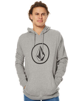 HEATHER GREY MENS CLOTHING VOLCOM JUMPERS - A41316V3HGRY