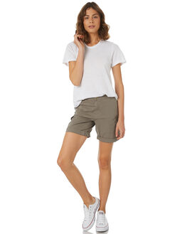 KHAKI WOMENS CLOTHING SWELL SHORTS - S8184232KHAKI