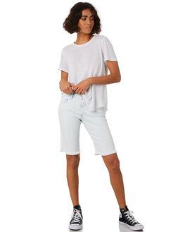 SUN FADED INDIGO WOMENS CLOTHING VOLCOM SHORTS - B1921807SUN