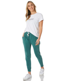 WHITE WOMENS CLOTHING SILENT THEORY TEES - 6053001WHT
