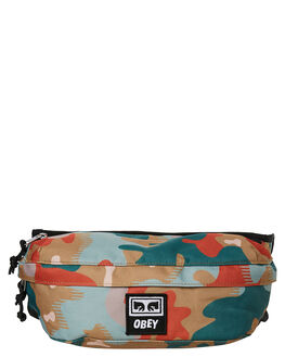 DRIP CAMO MENS ACCESSORIES OBEY BAGS + BACKPACKS - 100010093DRP