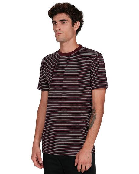 VINTAGE RED MENS CLOTHING ELEMENT TEES - EL-102001-V06