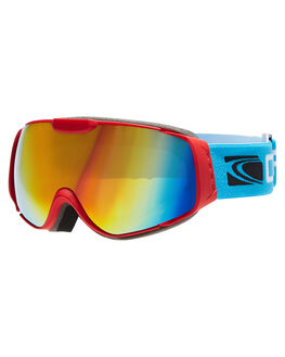 MATT RED ORANGE REVO SNOW ACCESSORIES CARVE GOGGLES - 6052REOR