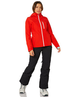 FIERY RED WOMENS CLOTHING THE NORTH FACE JACKETS - NF0A3M1415Q