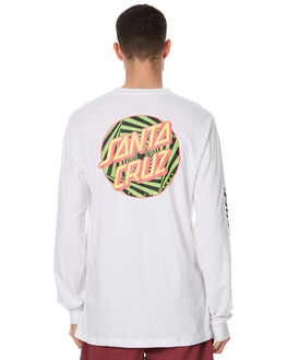WHITE MENS CLOTHING SANTA CRUZ TEES - SC-MLC7582WHT