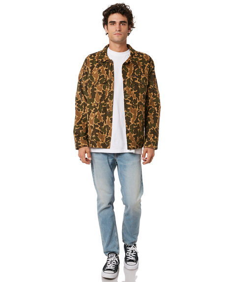 MULTI MENS CLOTHING NUDIE JEANS CO JACKETS - 140716R22