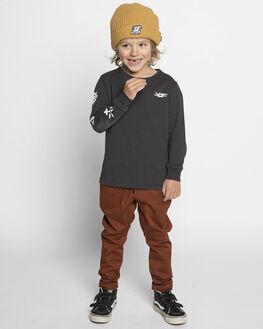RUST KIDS BOYS MUNSTER KIDS PANTS - MK182PA05RST