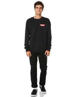 BLACK MENS CLOTHING VOLCOM JUMPERS - A4601908BLK