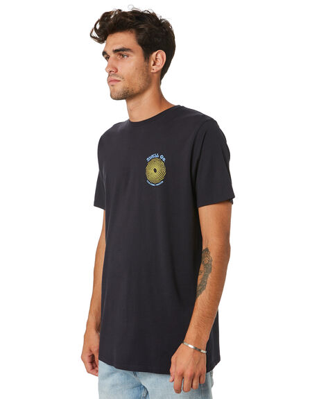 BLACK OUTLET MENS SWELL TEES - S5202013BLACK