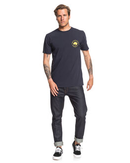 NAVY BLAZER MENS CLOTHING QUIKSILVER TEES - EQYZT05691-BYJ0