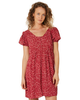 RUBY FLORAL WOMENS CLOTHING SAINT HELENA DRESSES - SHS192123BRUBYFL