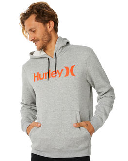 DARK GREY MENS CLOTHING HURLEY JUMPERS - AQ0773064