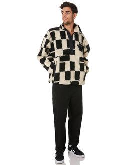 BLACK MULTI MENS CLOTHING OBEY JUMPERS - 121800385BKM