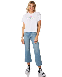WHITE WOMENS CLOTHING LEVI'S TEES - 69973-00550055
