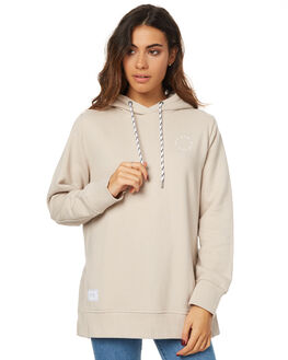 BEIGE WOMENS CLOTHING RPM JUMPERS - 7WWT09ABGE