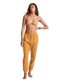 BURNT GOLD WOMENS CLOTHING BILLABONG PANTS - BB-6507754M-BU4