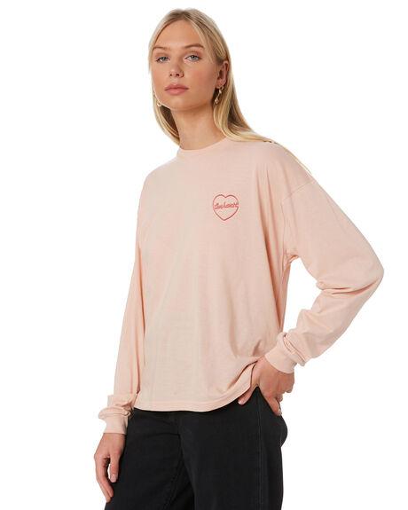 POWDERY WOMENS CLOTHING CARHARTT TEES - I027840POWD
