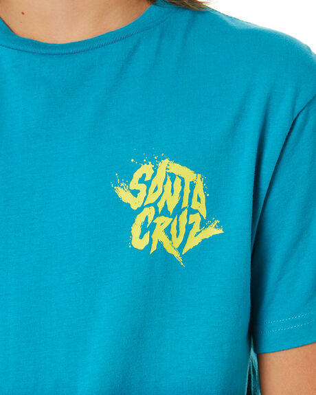 LAKE DIP DYE KIDS BOYS SANTA CRUZ TOPS - SC-YTA0336LADD