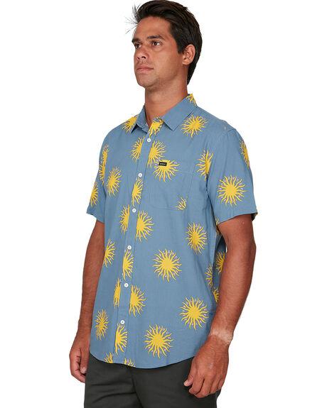 SLATE MENS CLOTHING RVCA SHIRTS - RV-R306201-SLA