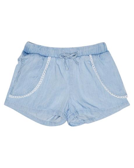 LIGHT BLUE KIDS GIRLS EVES SISTER SHORTS + SKIRTS - 8021054LBU