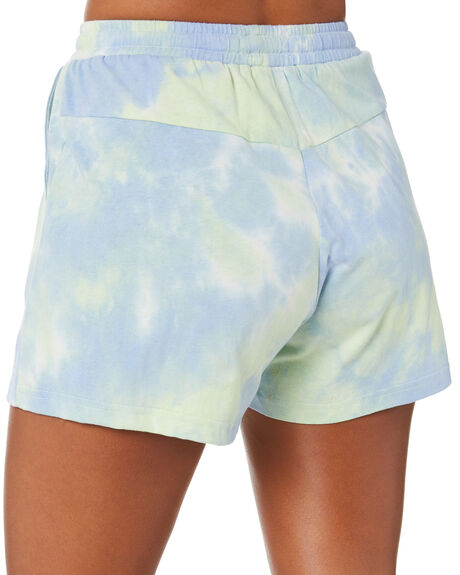 BLUE GREEN WOMENS CLOTHING RPM SHORTS - 20PW19ABLGRN