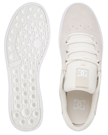 WHITE MENS FOOTWEAR DC SHOES SNEAKERS - ADYS300580-WHT