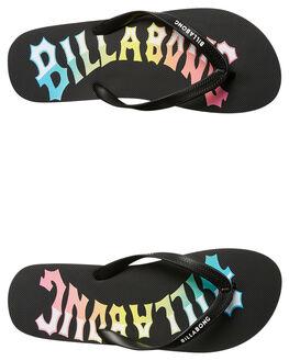 BLACK MENS FOOTWEAR BILLABONG THONGS - 9672936BLK