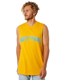 GOLD OUTLET MENS LOWER SINGLETS - LO18Q4MSI04GLD