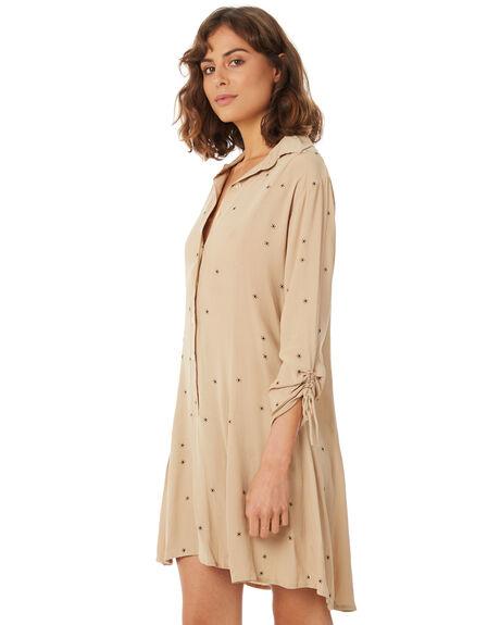 SAND RAYS WOMENS CLOTHING RUE STIIC DRESSES - SA18-16-SR-F-SAND